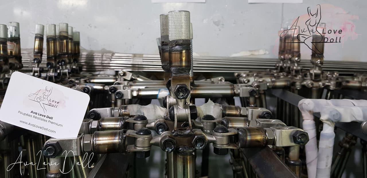 Fabrication Poupée TPE Usine