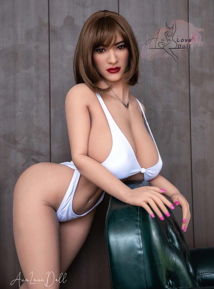 Poupée Sexuelle HR Doll 158cm Tête 41