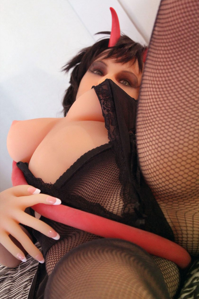 Poupée Sexuelle Victoria Demon 155cm Fitness Doll Forever