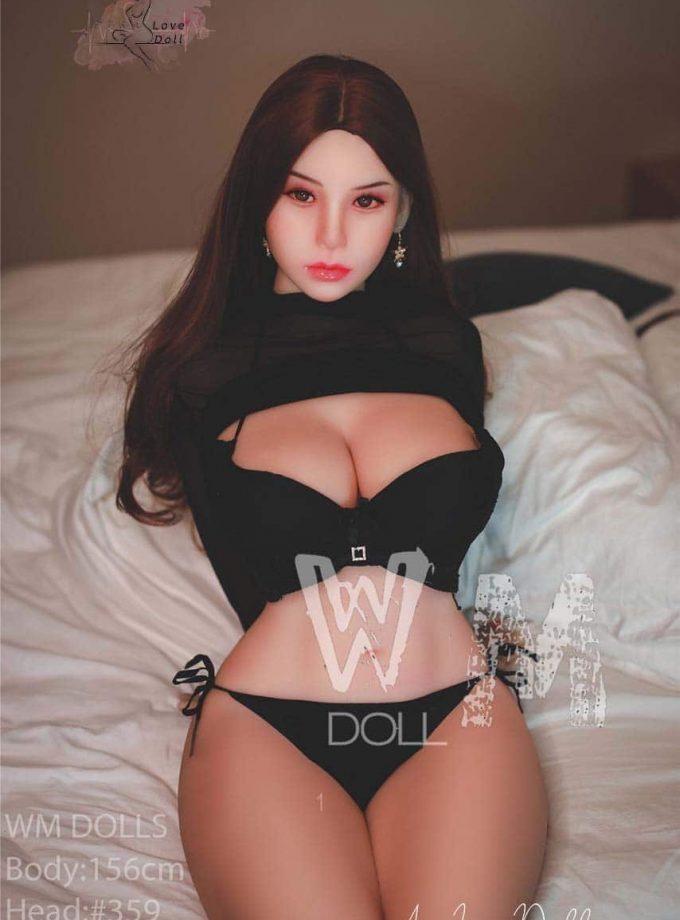 Love Doll WM Doll 156 cm Bonnet H Visage 359