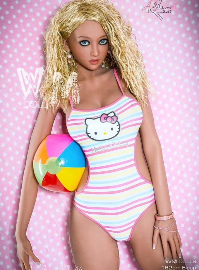 Love Doll WM Dolls 162 cm Bonnet E Visage 334
