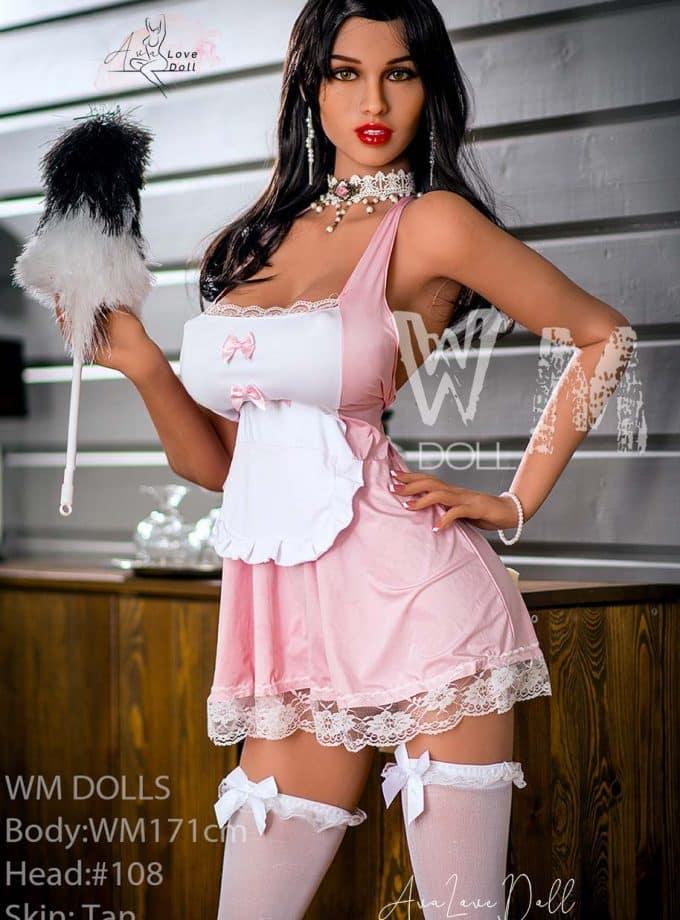 Poupée Sexuelle WM Dolls 171 cm Bonnet H Visage 108