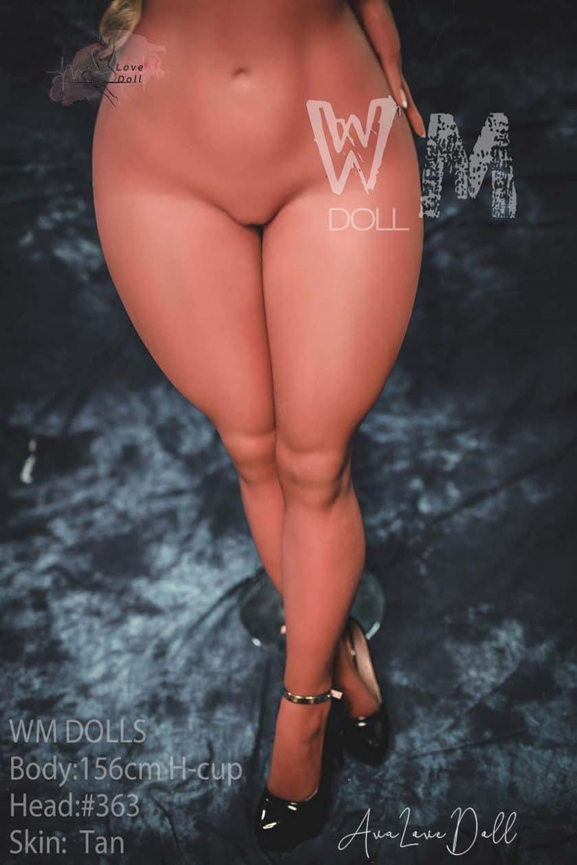 Poupée sexuelle WM Doll 156cm tête 153 bonnet H