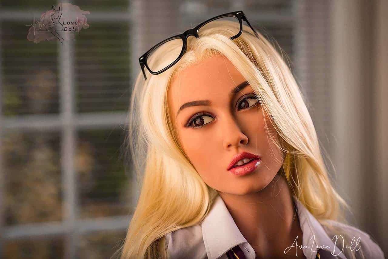 Poupée sexuelle WM Doll 157cm tête 159 bonnet B Blonde