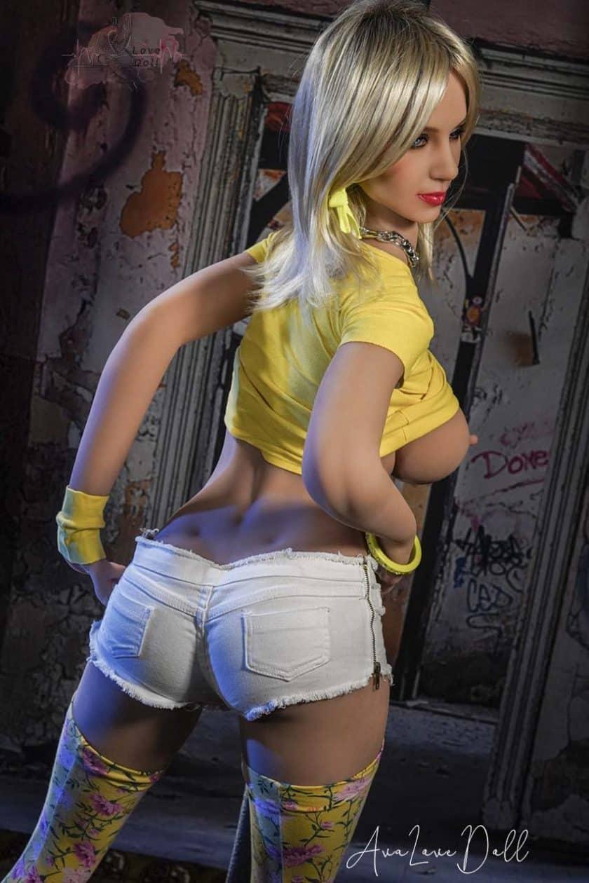 Poupée Sexuelle HR Doll 174 cm Bonnet E Visage 34