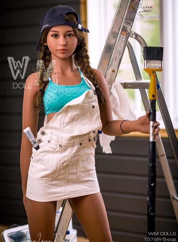 Poupée Sexuelle WM Doll 157cm Bonnet B Visage 33