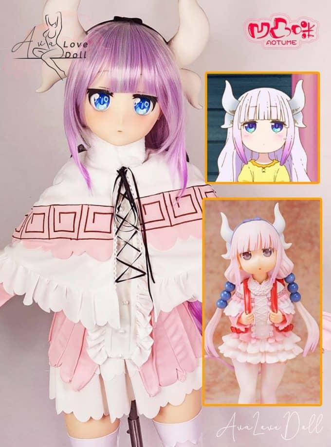 Dragon maid Kanna Kamui Aotume Doll hentai anime waifu