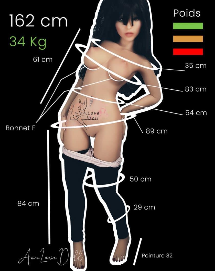 Mensurations-WM-Doll-162-cm-bonnet-F