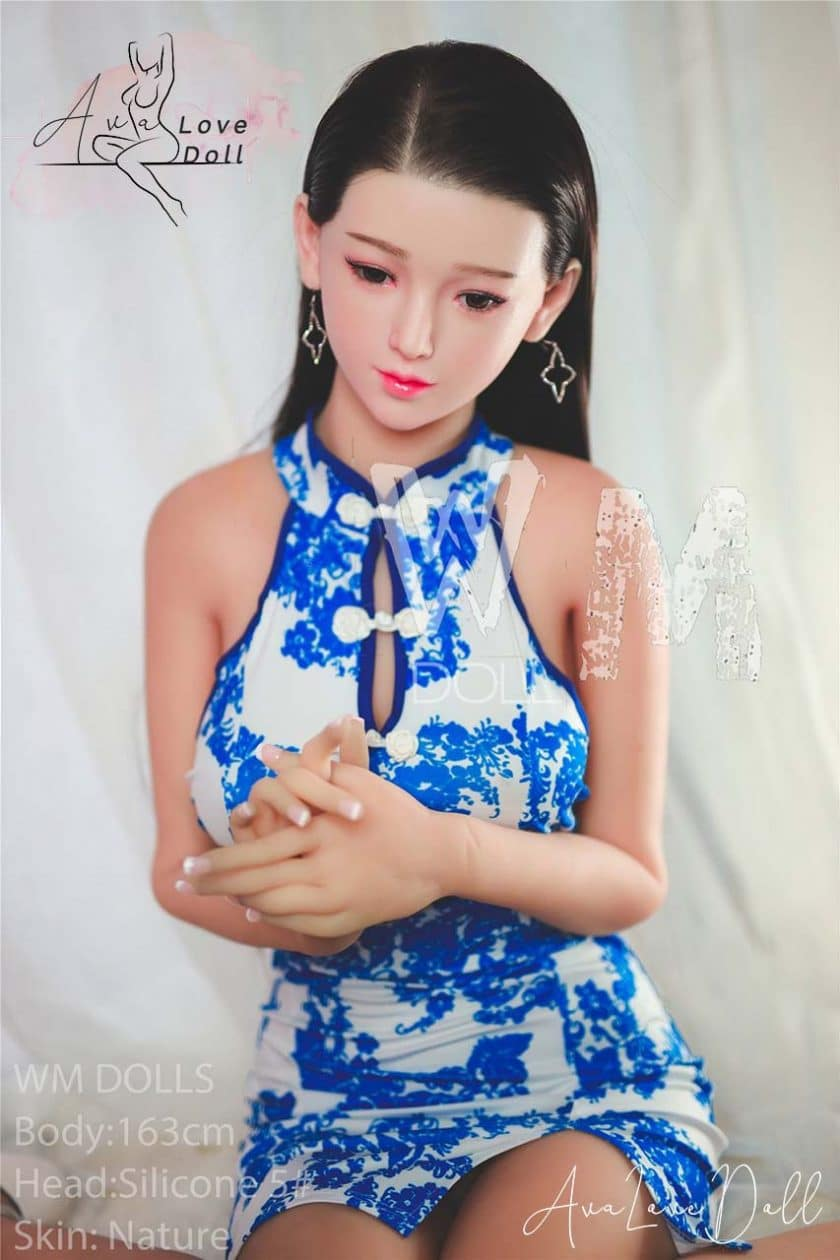 WM Dolls 163 cm Tête silicone 5 Bonnet C Poupée sexuelle