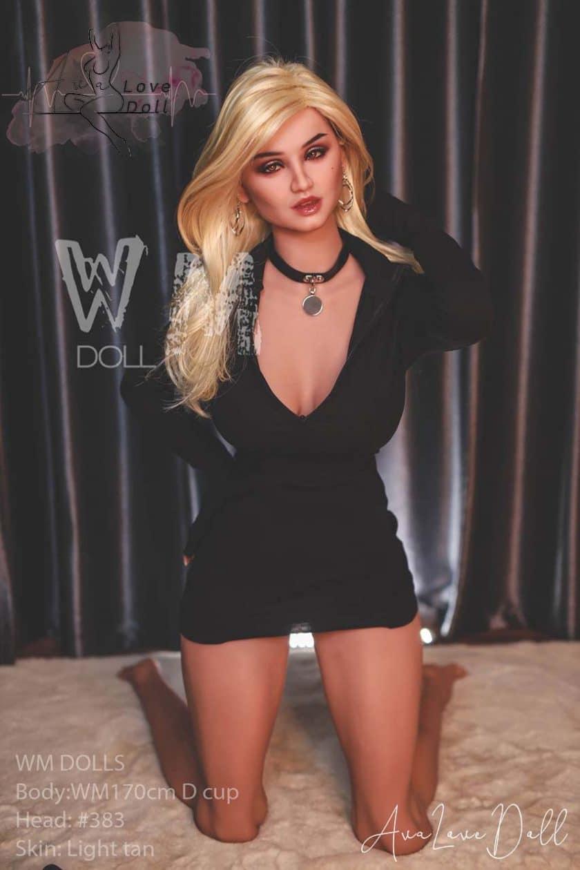 WM Doll tête 383 170 cm sex doll bonnet D