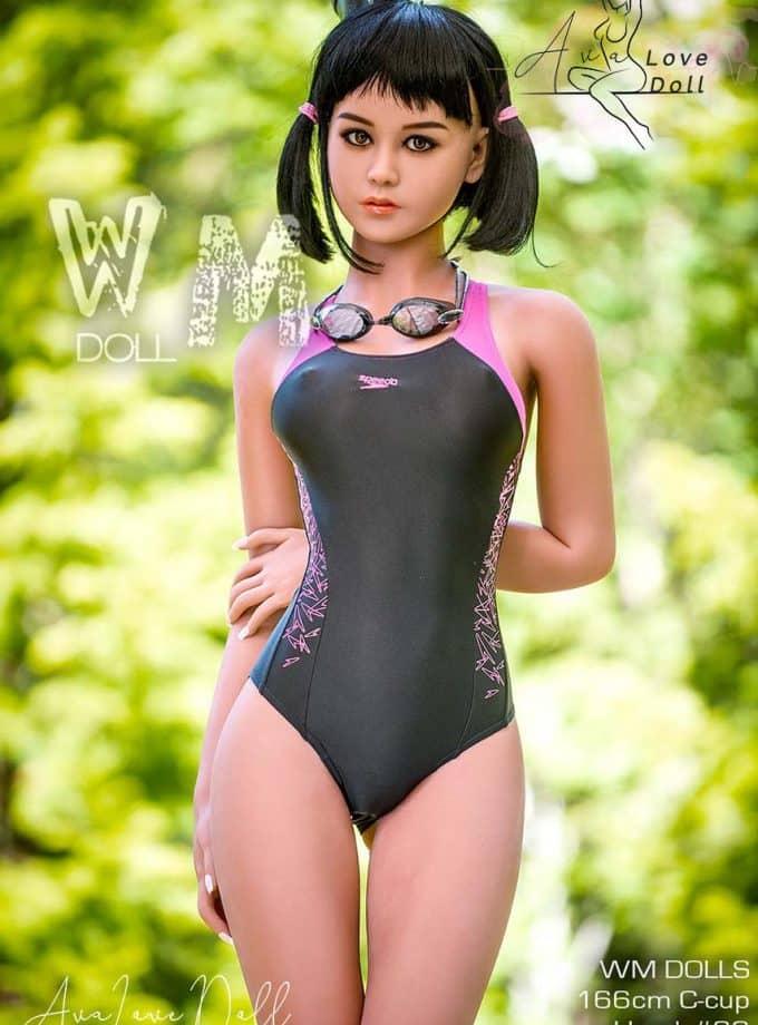 WM Doll Sex Doll 166 cm Tête 34 Bonnet C