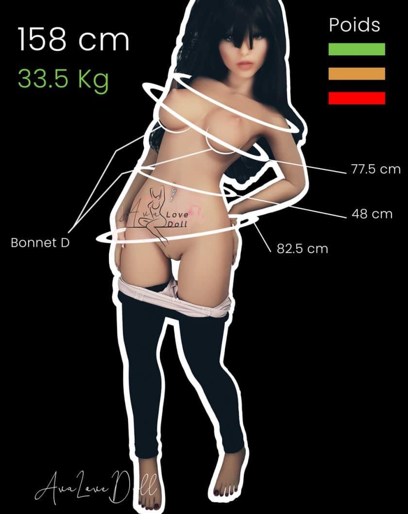 Mensurations-SEDoll-158-cm-Bonnet-D